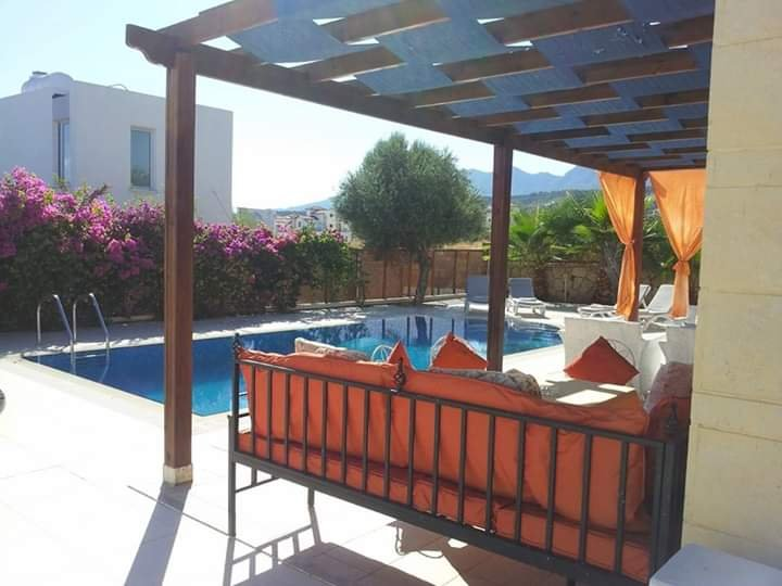 Villa for holiday rental with private pool Esentepe District of  Kyrenia/Girne, holiday rental in Alevkaya