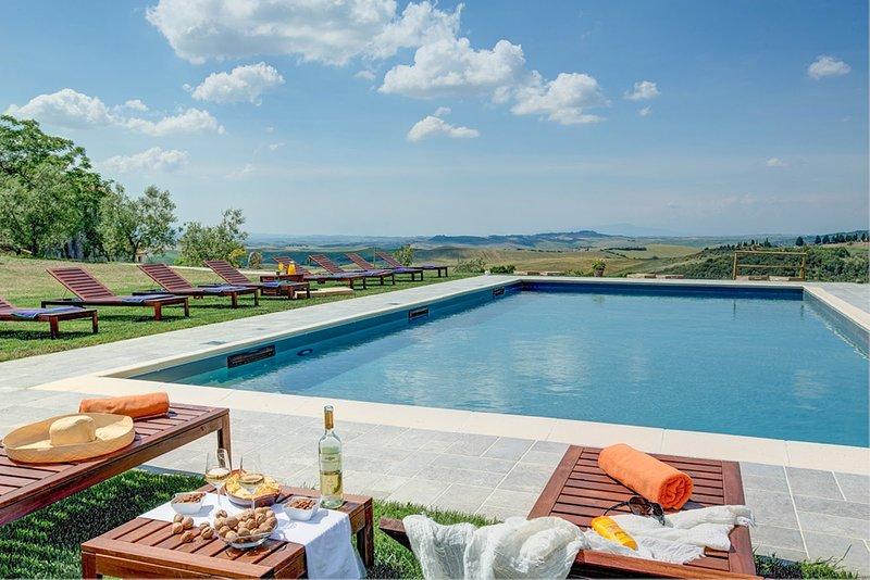 Villa del Silenzio, holiday rental in Volterra