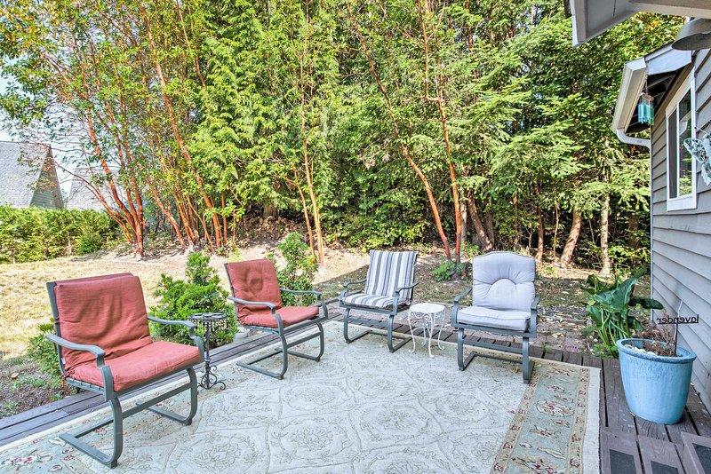 A relaxing retreat awaits at this 3-bedroom, 2.5-bath vacation rental.