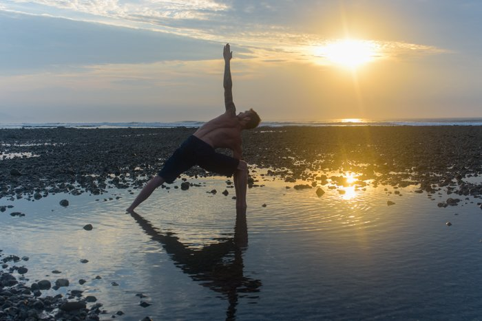Yoga and Sunsets and everything in between.