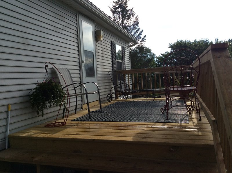 Mississippi Retreat, vacation rental in Lansing