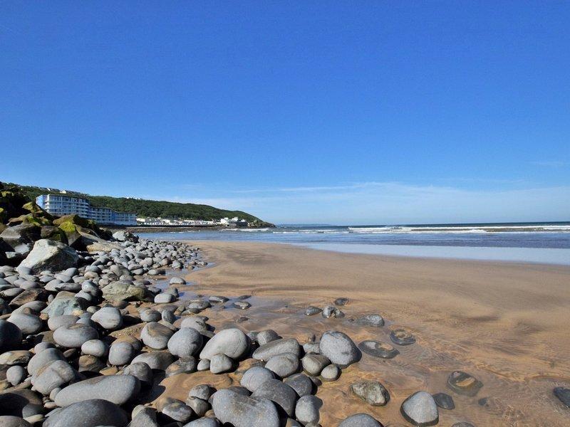 Westward Ho! beach nearby