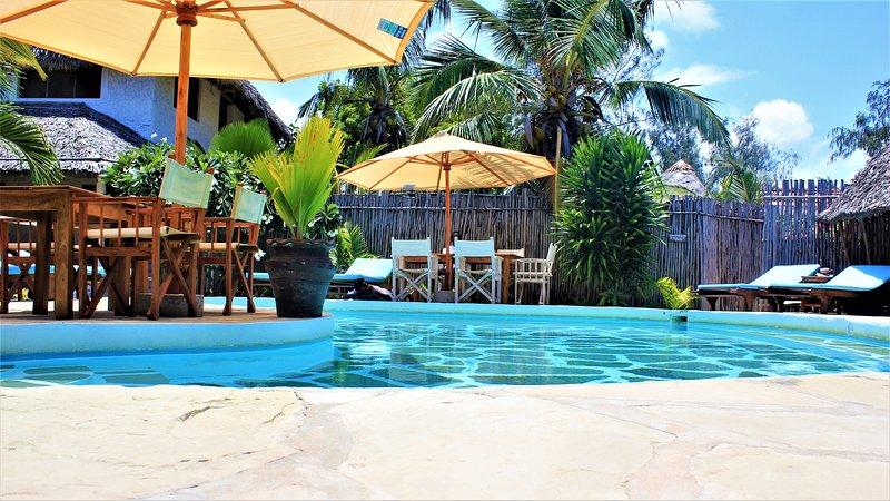 MVUVI Lodge, Kite House - MANDA Bungalow, vacation rental in Watamu
