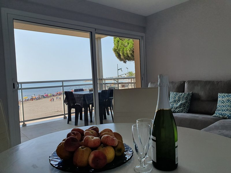 WONDERFUL SEA VIEWS primera línea de mar TARRAGONA, location de vacances à La Pineda