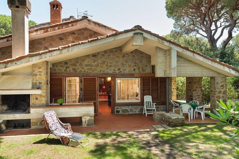 Villa le Rocchette, holiday rental in Castiglione Della Pescaia