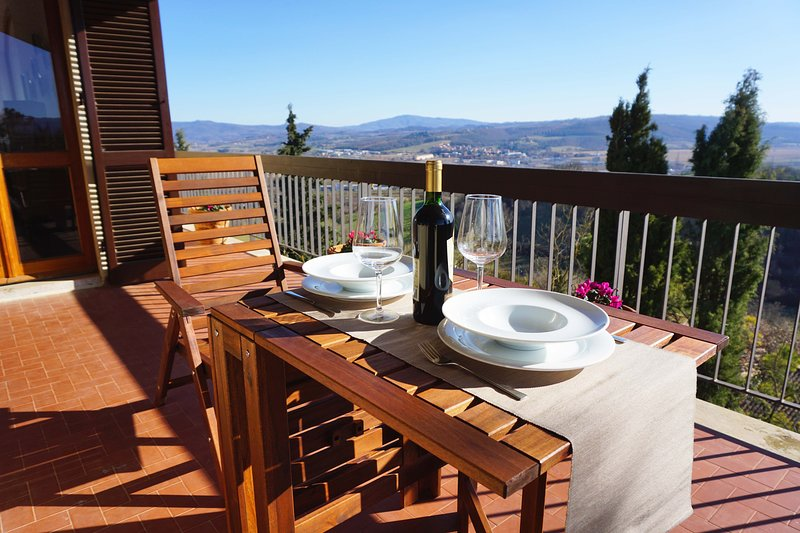 Villa Donatelli, Ferienwohnung in Chiusi
