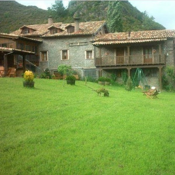 Apartment with mountain view, holiday rental in Bisaurri