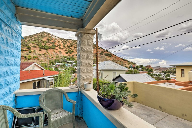 'St Patrick' Apartment in the Heart of Bisbee, vacation rental in Bisbee