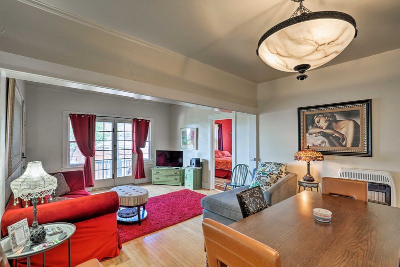 'St. Valentine' Apartment w/ Balcony in Bisbee, vacation rental in Bisbee