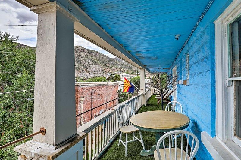 'St. Blaise' Bisbee Apt, < 1 Mi to Attractions!, aluguéis de temporada em Bisbee