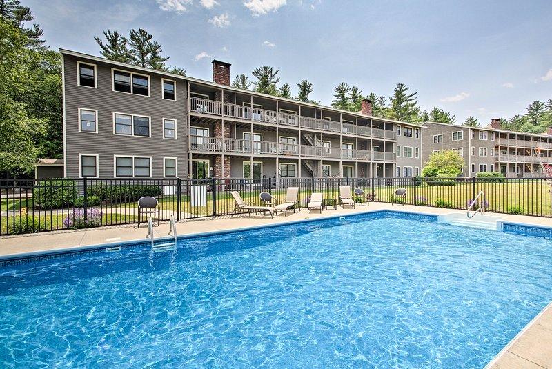 Disfruta del acceso a la piscina comunitaria y otras comodidades en Northface Resort.