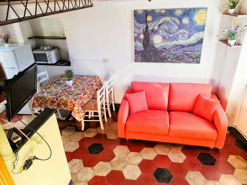 BYke kNIGHT, cozy loft for MTB lovers, vacation rental in Finale Ligure