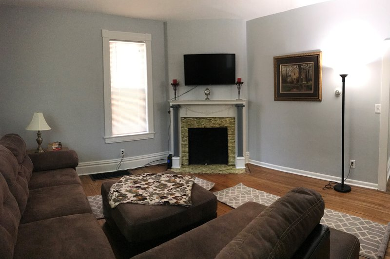 Newly renovated! New hardwood floors and paint.