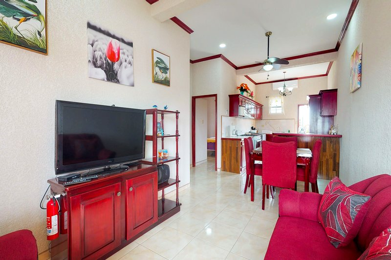 Modern apartment w/ convenient location near parks, dining & coast, holiday rental in Belize City
