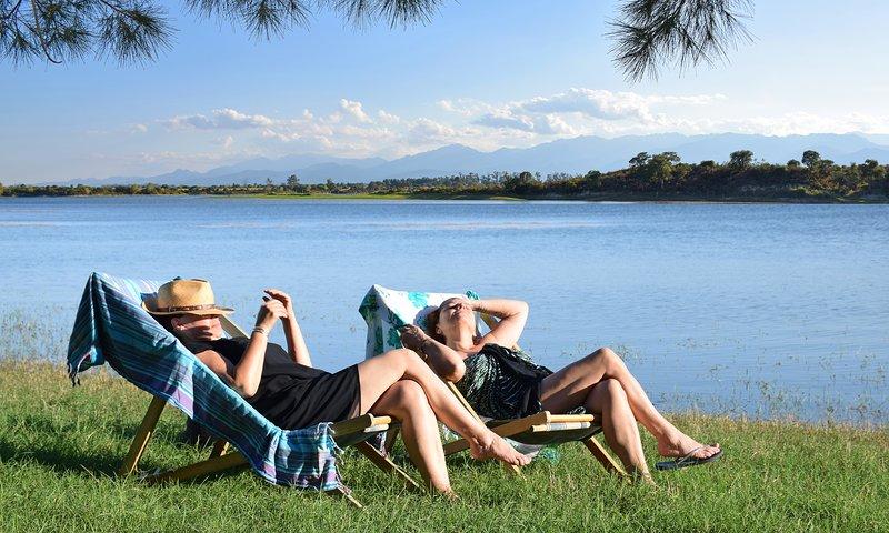 Cadre exceptionnel, pleine nature, bord de lac, wi-fi., vacation rental in Aleria
