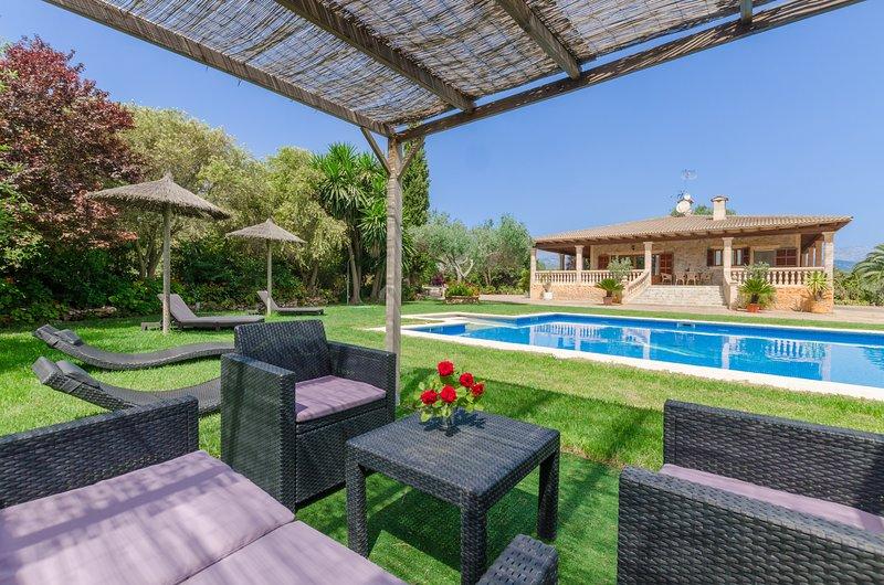 CAN BERGUINS - Villa for 6 people in Búger, location de vacances à Buger