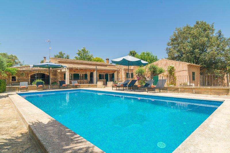 CAN MISTERO - Villa for 8 people in Manacor, aluguéis de temporada em Manacor