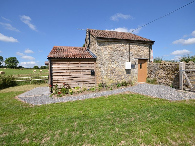 Looking towards this detached barn conversion