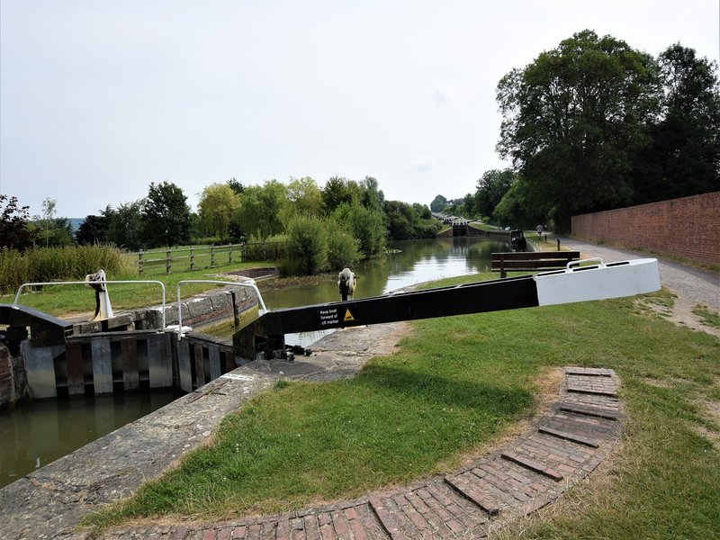Visit the famous Caen Hill locks