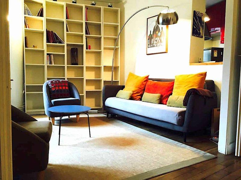 Montmartre / Nobel - sala de estar