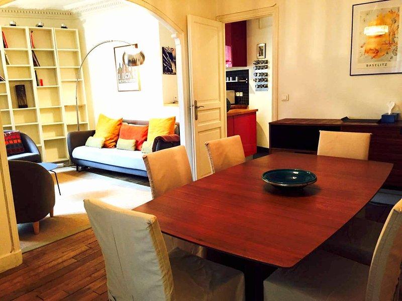 Montmartre / Nobel - sala de estar y comedor
