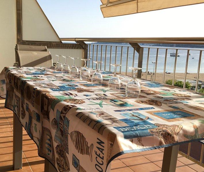 Nice apartment with sea view & Wifi, casa vacanza a Palamos