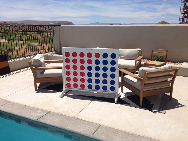 Connect 4 Located in Both Homes
