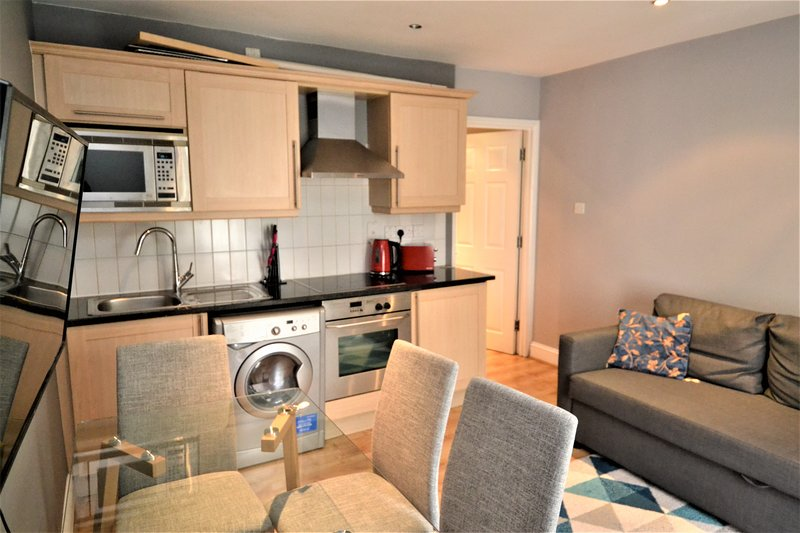 Nicely decorated apartment located in Mayfair, apartment is organized over 2 floors