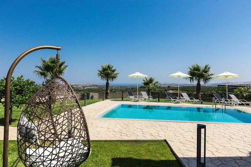 Margarites Villas, Agapi - Set in the Nature with Panoramic View!, alquiler de vacaciones en Rethymnon