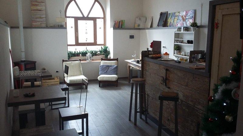 L'armonica di nonno sandro b&b, holiday rental in Roccacasale