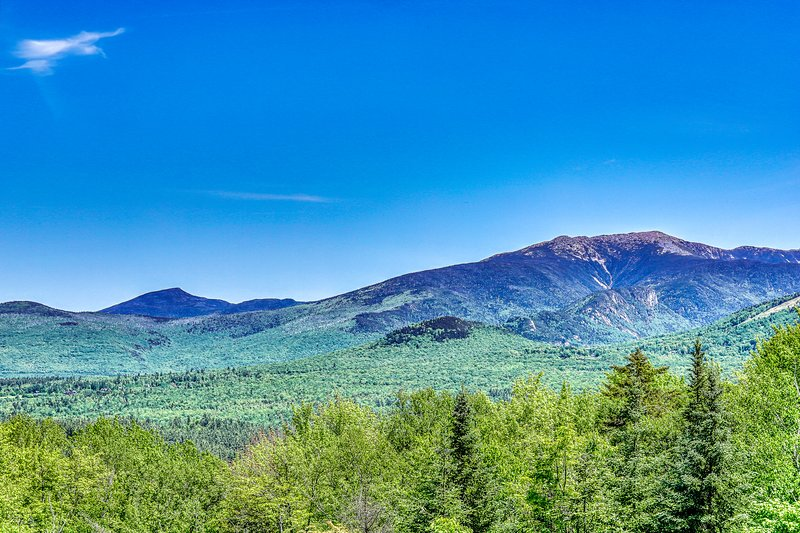 Dog-friendly cabin w/ a fireplace, loft, & deck w/ spectacular mountain views, vacation rental in Lower Waterford