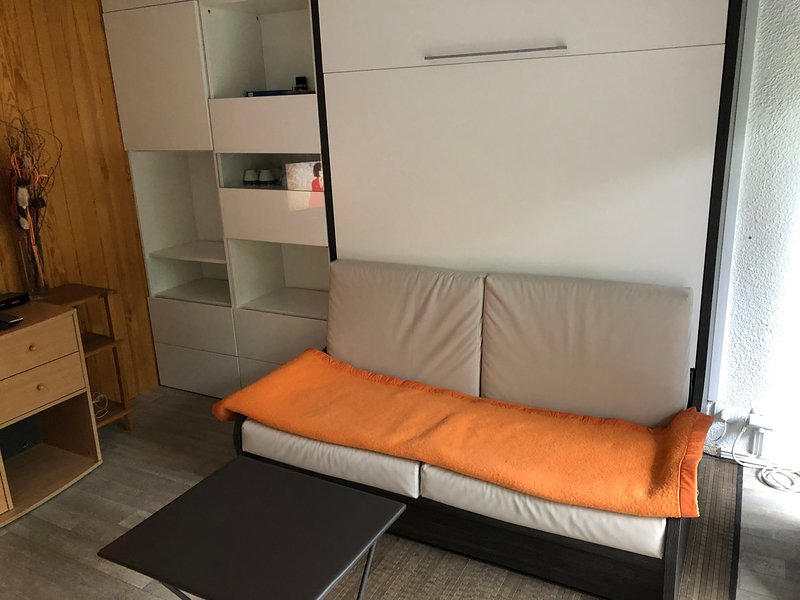 Amazing studio with mountain view, holiday rental in Vars