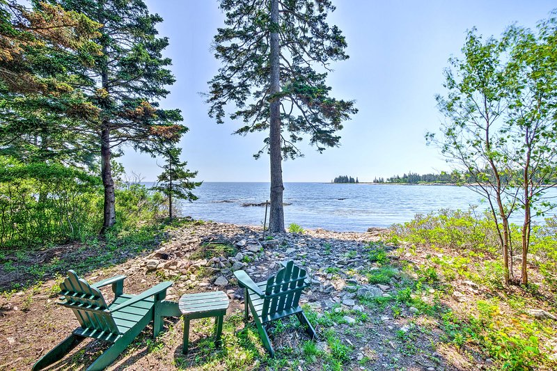 Book your Prospect Harbor retreat to this newly built, waterfront residence!
