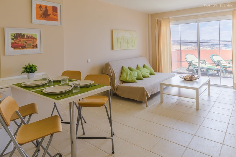 New&Modern Flat with Ocean View & Free Wifi - Sotavento Beach, Costa Calma (G), vacation rental in Costa Calma