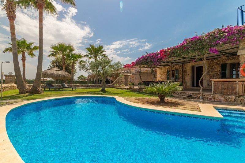 Can Miquel Camp, Finca 5StarsHome Mallorca, Ferienwohnung in Santa Margalida