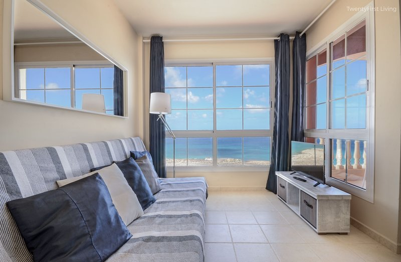 New&Modern Flat with Ocean View & Free Wifi - Sotavento Beach, Costa Calma (S), vacation rental in Costa Calma