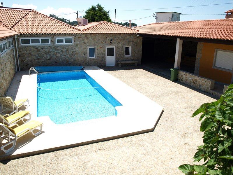 PVZ34V3 simpática moradia de férias, vacation rental in Povoa de Varzim
