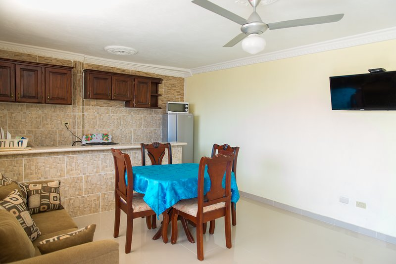 Comfort 1B Apartment Full Kitchen, Premium Wi-fi, Netflix  in Santo Domingo Este, vacation rental in Santo Domingo