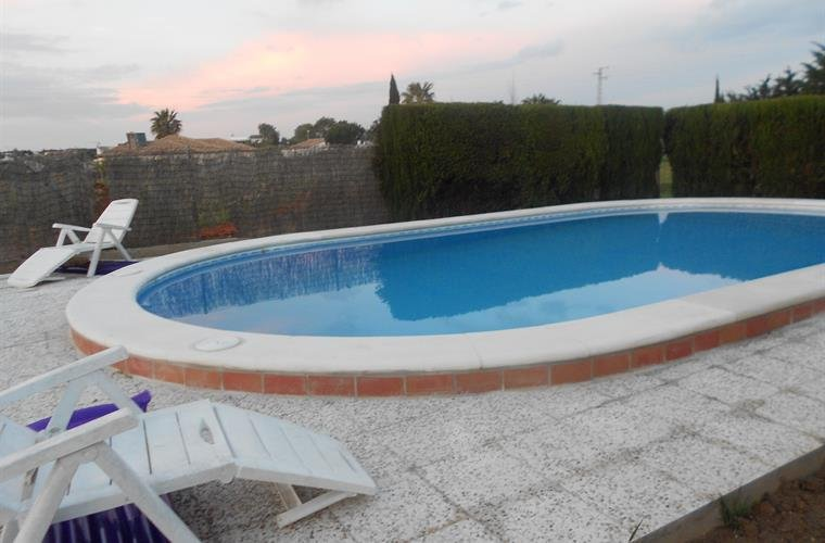 Pool10x5 och grill Costa de la Luz-Conil-Cadiz