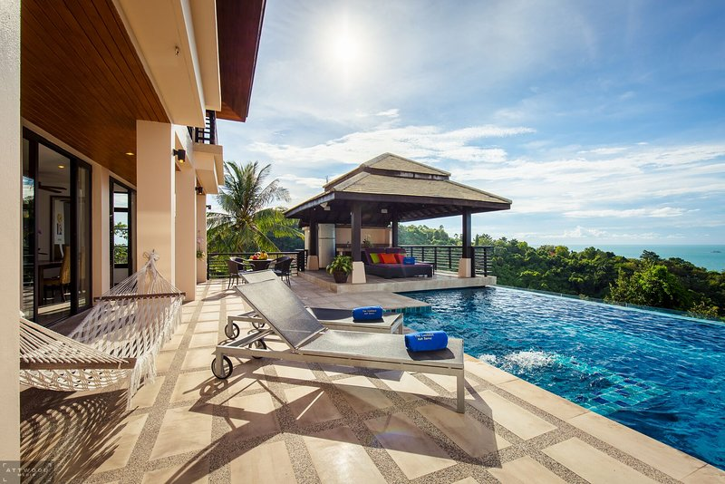 The Lookout , Samui - Luxury Villa with chauffeur and Thai chef service, holiday rental in Ko Samui