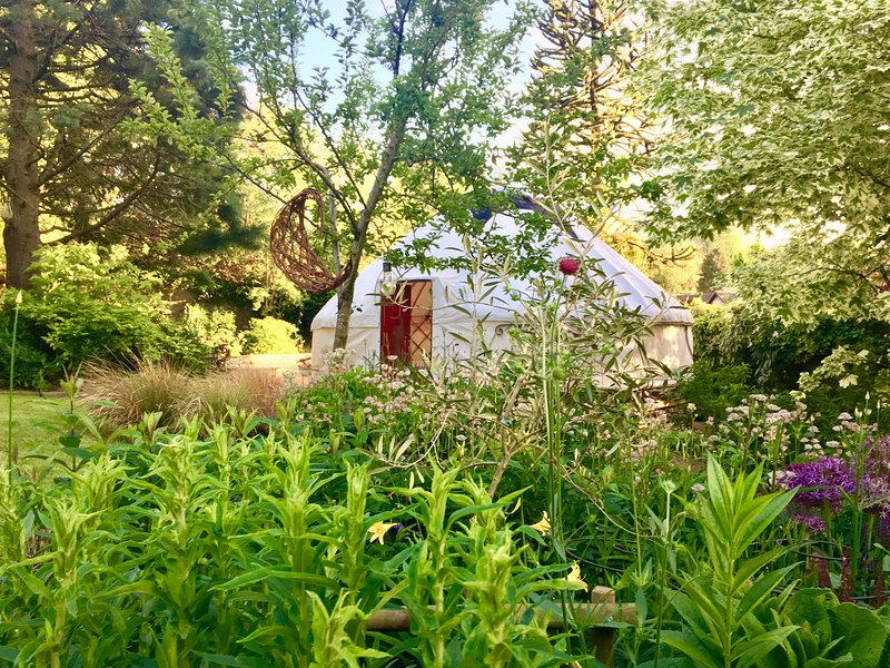 Garden Retreat with Secluded Lakes & Wildlife, holiday rental in Holcombe