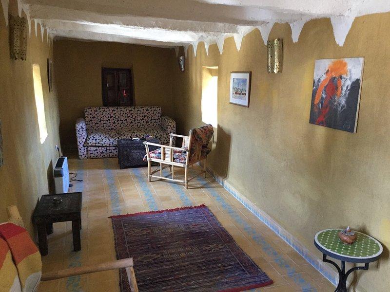 Cosy Moroccan sitting room