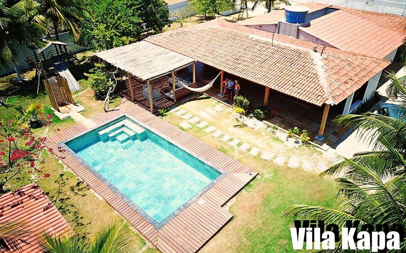 Vila KAPA-PARAJURU-Cèara-Brèsil-Kitesurf, holiday rental in Guajiru