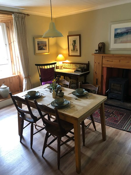 Dining Kitchen with extending table