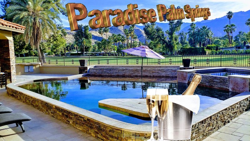 Paradise Palm Springs, holiday rental in Palm Springs