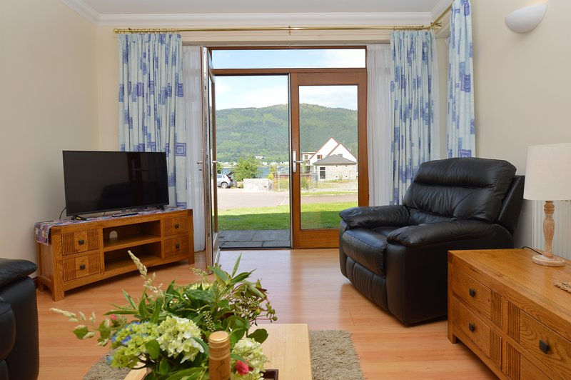 Ferryman's apartment, new build, pet friendly, quiet location, vacation rental in Dunoon