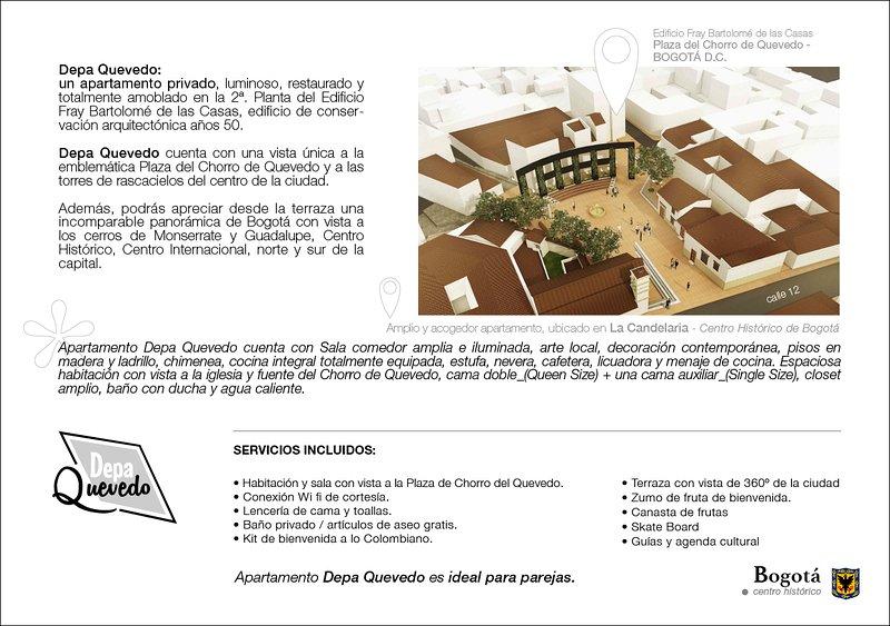 Bogota Centro Historico Apartamento Depa Quevedo