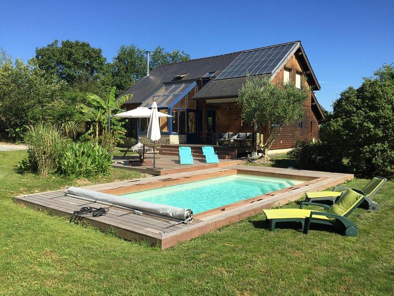 LE CABANON BRETON*** - Ecogîte avec piscine près de ST-MALO, MONT-ST-MICHEL, holiday rental in Meillac