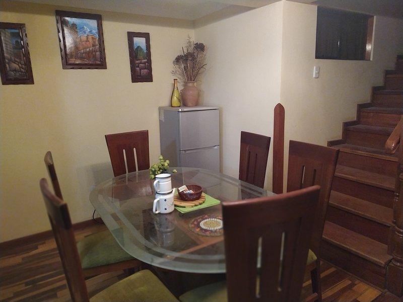 Cusco Sweet Home Rooms & Apartments, holiday rental in San Sebastian