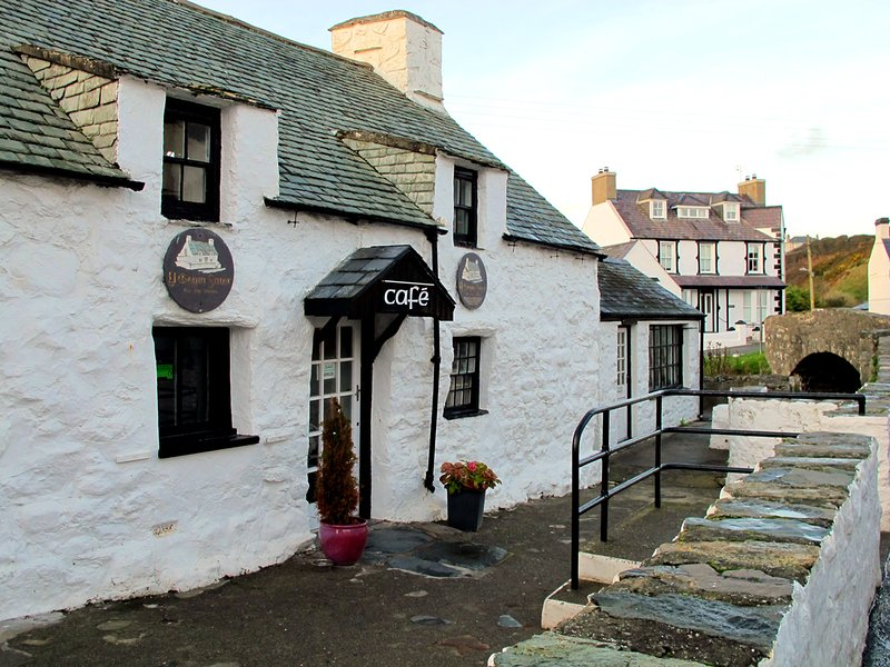 Y Gegin Fawr Cafe dates back to 1300, pilgrims would rest here on the way to Bardsey Island